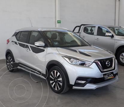 Nissan Kicks Exclusive Aut usado (2017) color Plata Dorado precio $249,000
