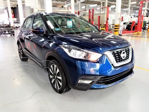 Nissan Kicks Exclusive Aut usado (2020) color Azul precio $355,000