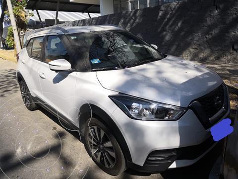 Nissan Kicks Exclusive Aut usado (2019) color Blanco Perla precio $333,000