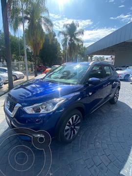 Nissan Kicks Exclusive Aut usado (2020) color Azul precio $405,000