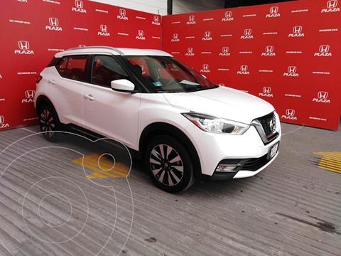 Nissan Kicks Advance  usado (2020) color Blanco precio $319,000