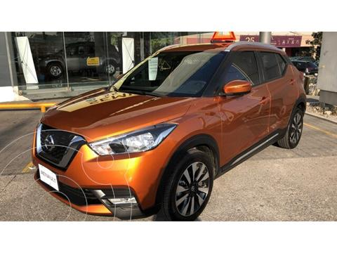 Nissan Kicks Exclusive Aut usado (2020) color Naranja Metalico precio $378,000