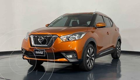 Nissan Kicks Exclusive Aut usado (2017) color Naranja precio $297,999