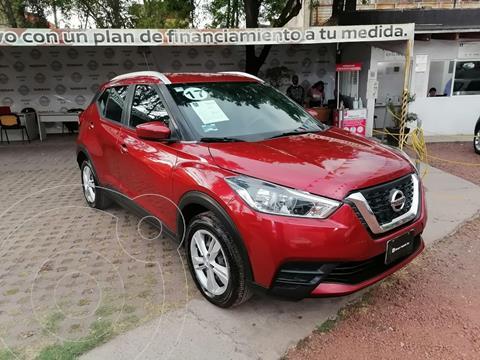 Nissan Kicks Sense usado (2017) color Rojo precio $215,000