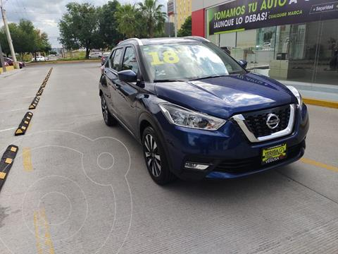 Nissan Kicks Advance usado (2018) color Azul precio $315,000