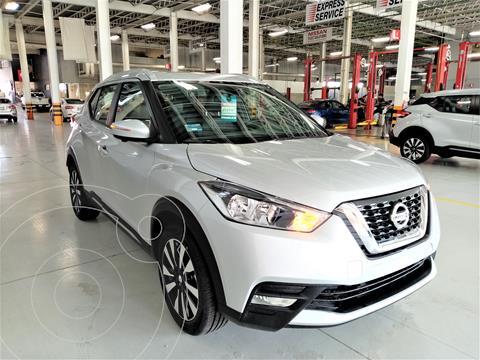 Nissan Kicks Exclusive Aut usado (2020) color Plata Dorado precio $355,000