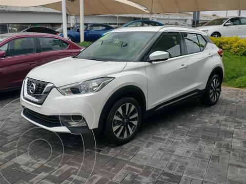 Nissan Kicks Advance  usado (2019) color Blanco precio $310,000