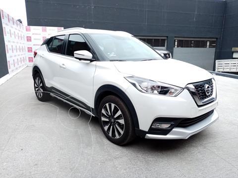 Nissan Kicks Exclusive Aut usado (2020) color Blanco precio $376,000