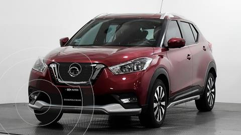 Nissan Kicks Exclusive Aut usado (2019) color Rojo precio $304,416
