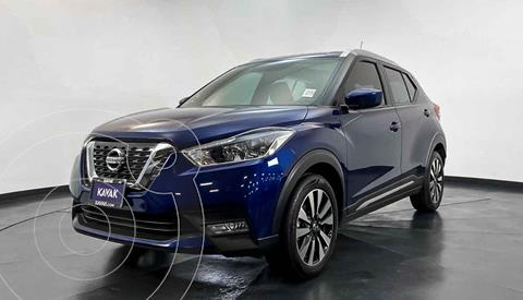 Nissan Kicks Exclusive Aut usado (2017) color Azul precio $267,999