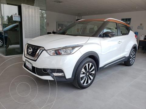 Nissan Kicks Exclusive Aut usado (2020) color Blanco precio $399,000