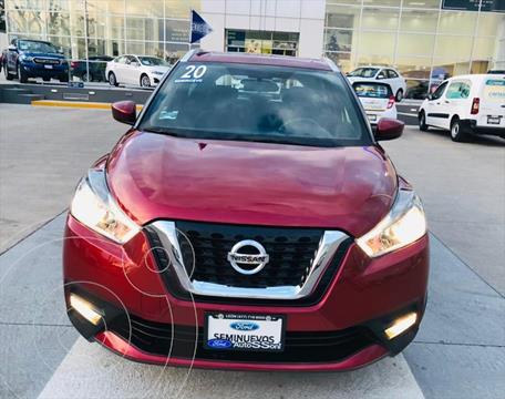 Nissan Kicks ADVANCE CVT ´20 usado (2020) color Rojo precio $310,000