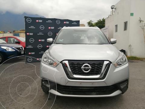 Nissan Kicks Advance  usado (2020) color Plata Dorado precio $299,000