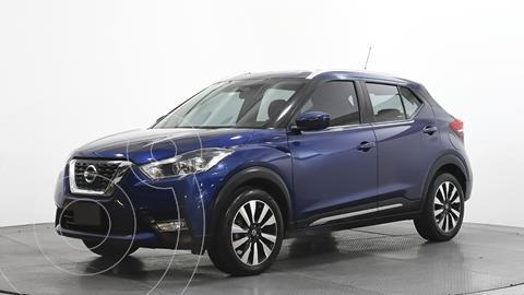 Nissan Kicks Exclusive Aut usado (2019) color Azul precio $308,712