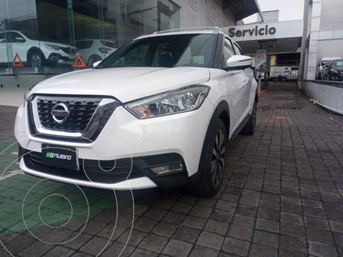 Nissan Kicks Exclusive Aut usado (2018) color Blanco precio $289,000