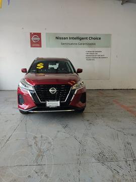Nissan Kicks Advance usado (2021) color Rojo precio $330,000