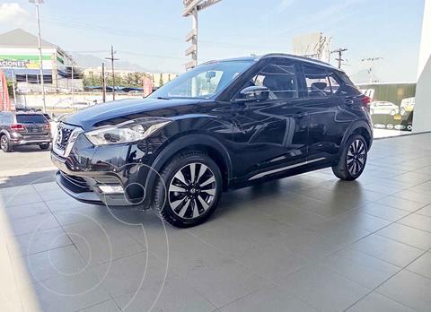Nissan Kicks Exclusive Aut usado (2018) color Negro precio $309,000
