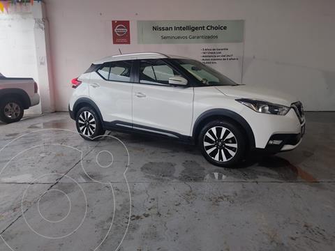 Nissan Kicks Exclusive Aut usado (2019) color Blanco precio $345,000