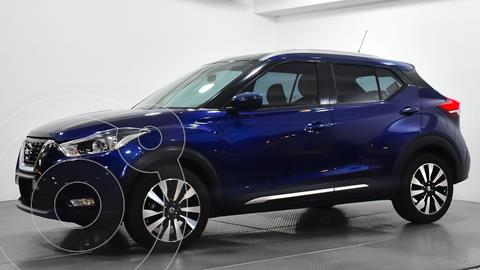 Nissan Kicks Exclusive Aut usado (2018) color Azul precio $270,000