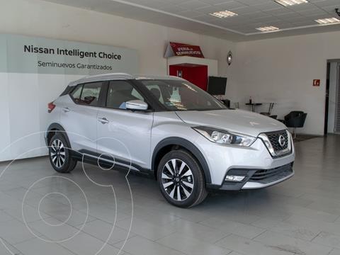 Nissan Kicks Exclusive Aut usado (2020) color Blanco precio $375,000