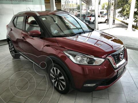 Nissan Kicks Exclusive Aut usado (2018) color Rojo Metalizado precio $253,000
