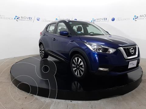 Nissan Kicks Advance Aut usado (2019) color Azul precio $279,000