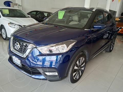 Nissan Kicks Exclusive Aut usado (2018) color Azul precio $294,900