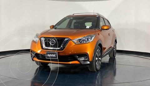 Nissan Kicks Exclusive Aut usado (2017) color Naranja precio $279,999