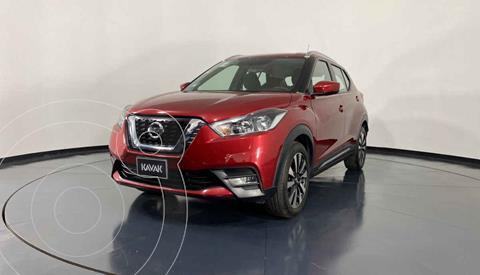 Nissan Kicks Exclusive Aut usado (2017) color Rojo precio $279,999