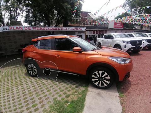 Nissan Kicks Exclusive Aut usado (2018) color Naranja Metalico precio $299,000