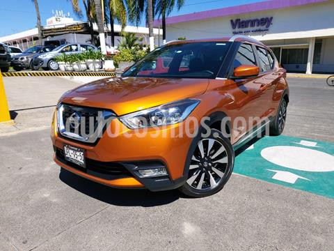 Nissan Kicks Advance Aut usado (2018) color Naranja Metalico precio $279,000