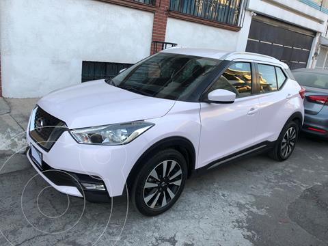 Nissan Kicks Advance Aut usado (2017) color Blanco Perla precio $216,500