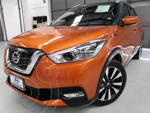 Nissan Kicks Advance  usado (2019) color Naranja precio $308,900