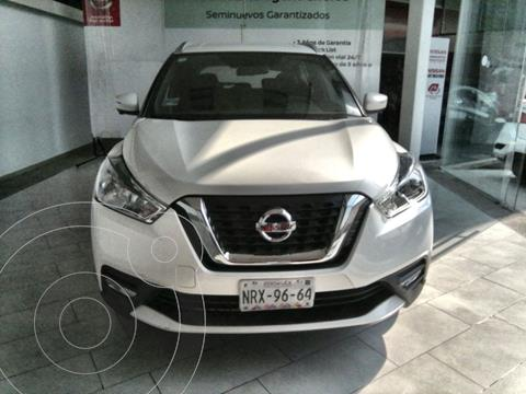 Nissan Kicks Exclusive Aut usado (2020) color Blanco financiado en mensualidades(enganche $71,800 mensualidades desde $11,173)