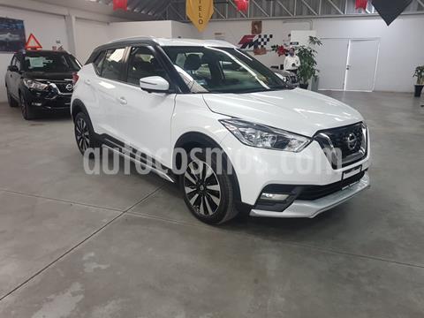 Nissan Kicks Exclusive Aut usado (2018) color Blanco Perla precio $289,000