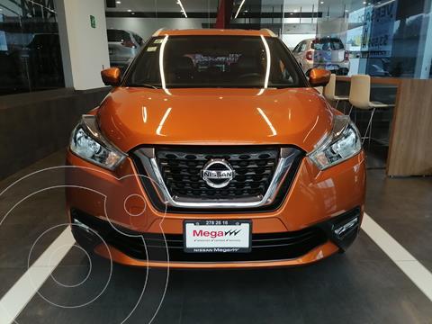 Nissan Kicks Exclusive Aut usado (2018) color Naranja financiado en mensualidades(enganche $131,361 mensualidades desde $4,083)