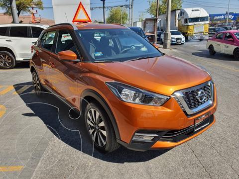 Nissan Kicks Exclusive Aut usado (2020) color Naranja precio $330,000