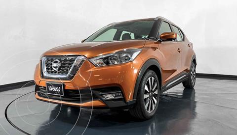 Nissan Kicks Exclusive Aut usado (2017) color Naranja precio $267,999