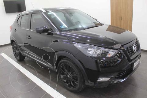 Nissan Kicks Exclusive Aut usado (2018) color Negro precio $319,000