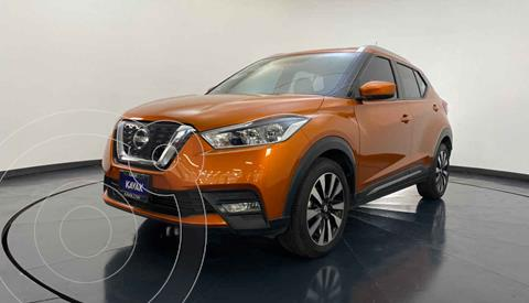 Nissan Kicks Advance Aut usado (2017) color Naranja precio $242,999