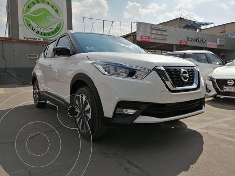 Nissan Kicks Bitono Aut usado (2020) color Blanco Perla precio $389,800
