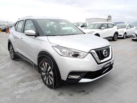 Nissan Kicks Advance  usado (2020) color Plata Dorado precio $330,000