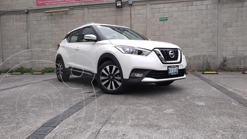 Nissan Kicks Exclusive Aut usado (2018) color Blanco precio $298,000