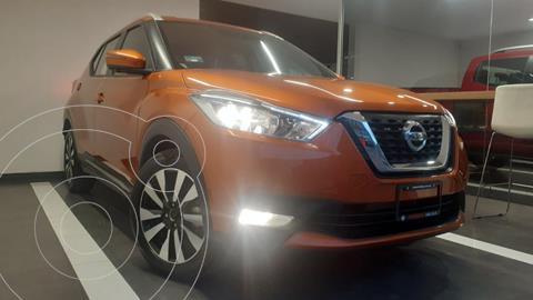 Nissan Kicks Exclusive Aut usado (2020) color Naranja Metalico precio $375,800