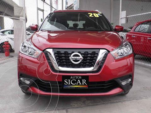 Nissan Kicks Advance Aut usado (2020) color Rojo precio $299,000