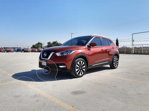 Nissan Kicks Exclusive Aut usado (2020) color Rojo precio $353,900
