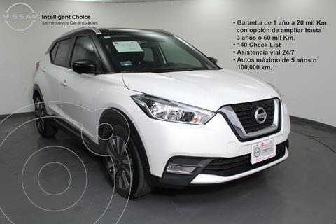 Nissan Kicks Exclusive Aut usado (2019) color Blanco precio $324,000