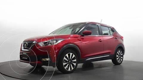 Nissan Kicks Exclusive Aut usado (2019) color Rojo precio $305,000