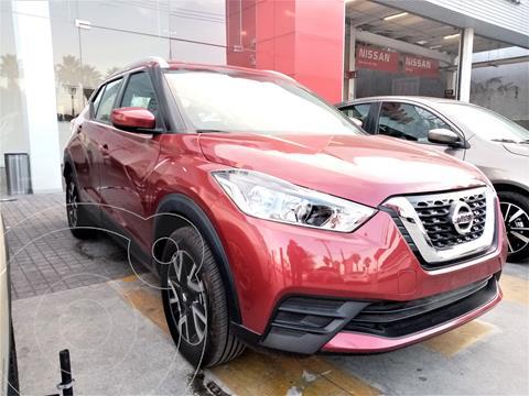 Nissan Kicks Sense usado (2020) color Rojo precio $315,900