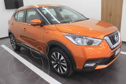 Nissan Kicks Exclusive Aut usado (2020) color Naranja precio $359,000